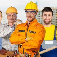 Строительная бригада ищет объекты строительства