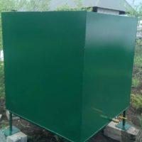 Металлические емкости и резервуары для огорода.