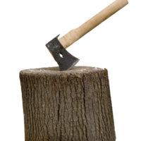 Требуется кольщик дров.