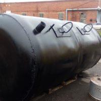 емкости из металла (септик) для канализации